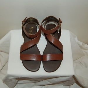 NEW Franco Sarto Brown Sandals